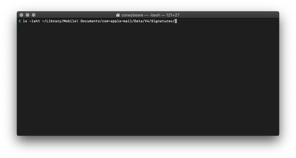 How to Make an HTML Signature in Apple Mail for macOS Mojave